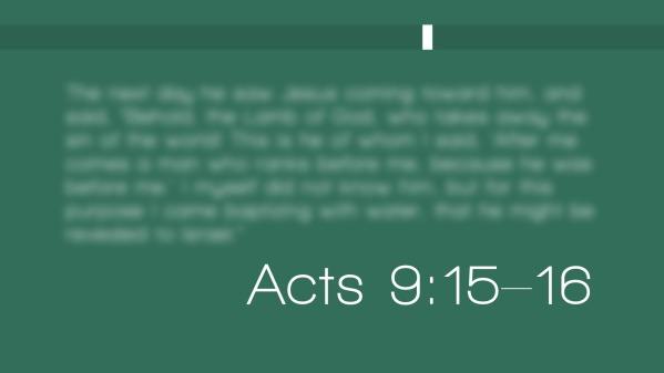 What God Can Accomplish Through You! - Ephesians 3:1